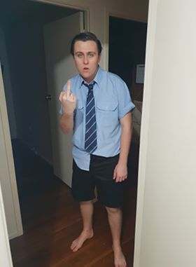 Andy-getting-ready-for-school